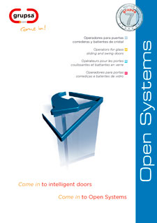 Open Systems Catalogue - Door Operator for sliding and swing doors