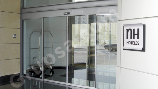 Automatic Sliding Glazed Door