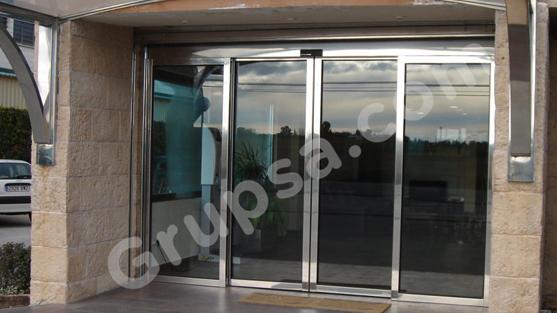 Automatic Sliding Glazed Door
